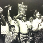 Faces of victory, defeat in Auburn on Election Night 1980