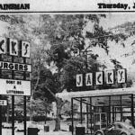 Of Hamburgers and Hell Raising: Auburn students vandalize Jack's restaurant to protest location, Crimson-ish colors