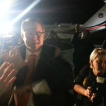 VIDEO: Gus Malzahn greets Auburn fans at the airport
