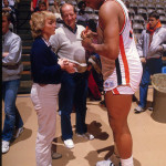 "Charles ""In Charge"" Barkley signing autographs for Auburn fans, 1984"