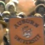 The Auburn fan at the 1976 Alabama-Notre Dame game in South Bend