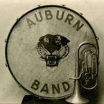 Early Auburn band instruments (with awesome Auburn logos)