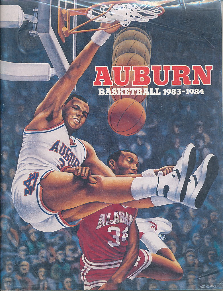 The Greatest Auburn Basketball Media Guide Cover Ever