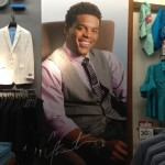 Check out the MADE by Cam Newton display in Belk