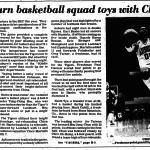 Auburn Basketball toys with China