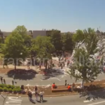 Final rolling of the Toomer's Oaks, time-lapse video the first