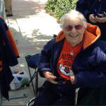 Meet the 100-year-old Auburn fan who got to Toomer's Corner before sunrise to say goodbye to the Toomer's Oaks