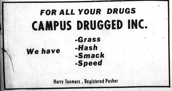 campus drugged 70