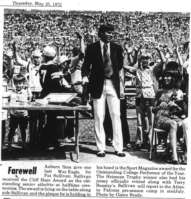 pat sullivan a-day photo 5.25.1972