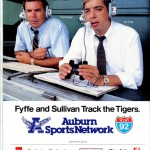 Jim Fyffe and Pat Sullivan track the tigers, 1985.