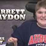17-year-old Auburn fan with muscular dystrophy profiled by Boston news channel