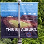 The new 'This Is Auburn' banners downtown