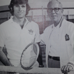 Evert To Conquer: Tennis legend Chris Evert's brother Drew was a top-notch netter for Auburn in the mid 70s