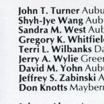 Don Knotts, Auburn student