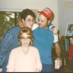 Dude in early 80s Auburn hat makes Awkward Family Photos
