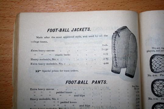 Football Uniforms 1892