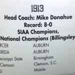 Football rankings guru Richard Billingsley says Auburn should claim century-old crown: 'My national championship for Auburn in 1913 is a very valid national championship'