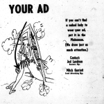 Risqué Plainsman ads for Plainsman ads from the 1970s