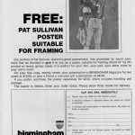 The awesome painting of Pat Sullivan on the cover of the August 1971 issue of Birmingham Magazine
