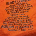<s>War Eagle</s> Beat Bama Relics