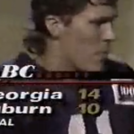 Grown man still coming to terms with refs robbing Auburn of win over Georgia in 1992