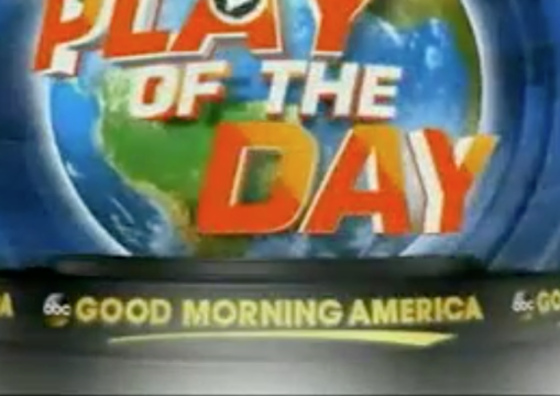 Good Morning America Eagles : Good morning america s play of the day segment names