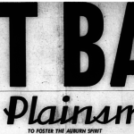 Ten minutes of Auburn students screaming 'Beat Bama' at the top of their lungs in 1956
