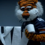 Aubie 'acting like he already won the national championship game' in new ESPN 'Jack Ryan' promo with Kevin Costner, Chris Pine
