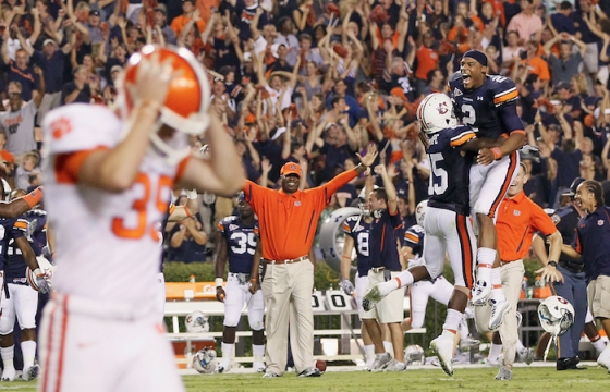 """""""I told our players that was a God thing."""" -- Gene Chizik"""