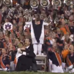 Watch the Auburn University Marching Band react to the final play of the Iron Bowl