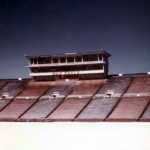 Another photo inside Jordan-Hare Stadium during the Auburn snow of 1977