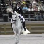 Watch a horse perform freestyle dressage to the Auburn Fight Song, 'Eye of the Tiger'
