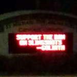 Catholic church marquee in Auburn takes subtle jab at Saban-backed 10-second rule