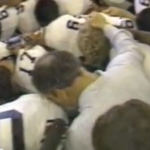Thankin' Our God, Thankin' Our People: Rare locker room footage of a teary Pat Dye praying after Auburn beat Alabama the 1982 Iron Bowl