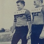 Twin Auburn football players in the early 40s had to wear name tags so Coach Jack Meagher could tell them apart