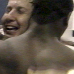 VIDEO: Auburn players celebrate Pat Dye's 44th birthday with shower, spanking after beating Maryland in 1983