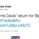 [UPDATE] Auburn grounds crew traces Chris Davis' Iron Bowl winning run on field in orange paint for Big Cat Weekend