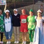 Auburn cheerleader dresses up as Publix crab legs for Halloween costume contest