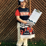 Here's Kristi and Kenzie Malzahn's recipe for the perfect Gus Malzahn costume