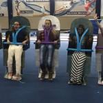 Auburn Ball Boy, Gus Bus among Halloween costumes in Auburn Gymnastics contest
