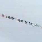 VIDEO: That time Auburn fans flew banners over Legion Field to let Alabama and Florida know Auburn was real SEC Champ in '93