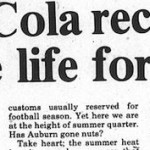 VIDEO: The story behind the 1986 Coke commercial filmed in Auburn