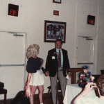 That time a Morganna the Kissing Bandit impersonator busted in on Pat Sullivan at an Auburn club meeting
