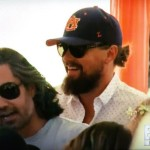 VIDEO: Leonardo DiCaprio showed up to a Coachella pool party in his Auburn hat