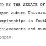 Sen. Tom Whatley responds to critics of his senate resolution urging Auburn to claim 9 national championships