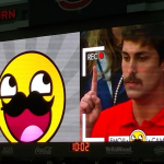 VIDEO: Auburn video board's 'Emoji Cam' pays tribute to Mustache Guy