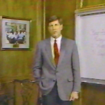 After Bama's loss to Auburn in the 1989 Iron Bowl, Bill Curry gave us the most awkward football review show ever