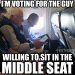 Yep, pretty sure that's an Auburn shirt in that Bernie Sanders Flies Coach meme
