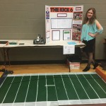 8th grade Auburn fan recreates Kick Six with robot, wins first place in science fair