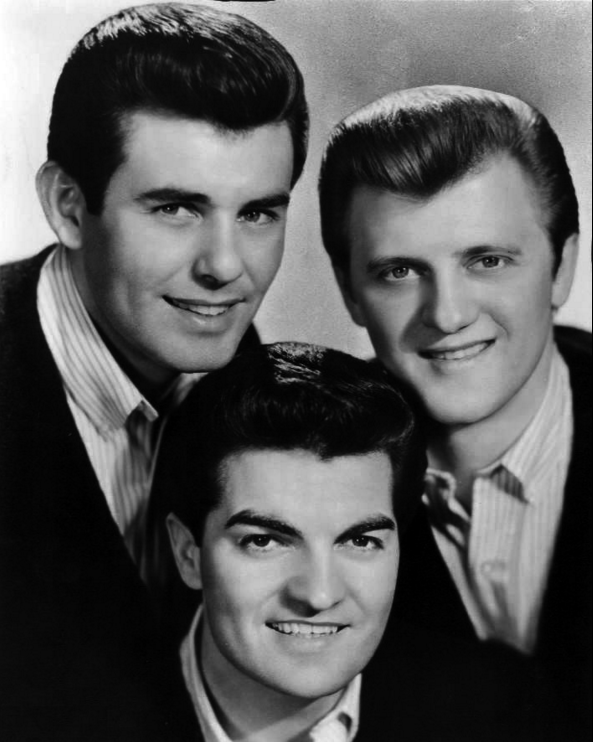 The Lettermen in 1964: Jim Pike, Bob Engemann, and Tony Butala.